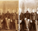 Look at how we restored this photo to be like new!